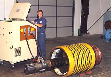 Inman electric motors testing motor efficiency and core for How to check ac motor