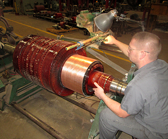 Inman electric motors dc motor repairs for Biedler s electric motor repair